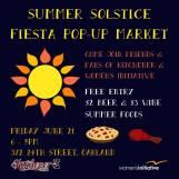Kitchener Summer Solstice Pop-Up